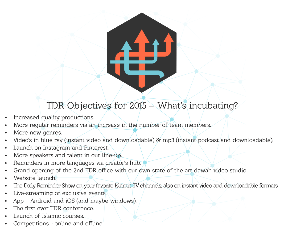 TDR Objectives 2015