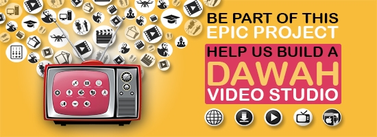 TDR Network - Dawah Video Studio Fund