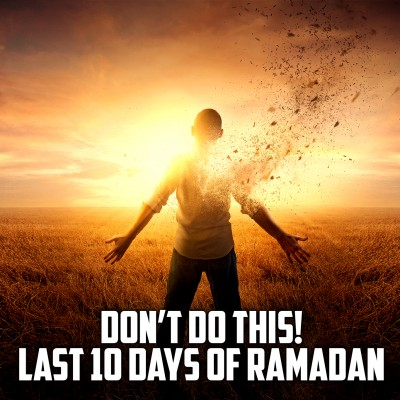 LIFE-CHANGING VIDEO! - YOU ARE DOING THIS MISTAKE EVERY RAMADAN!