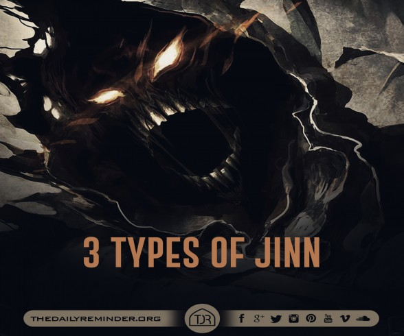 The jinn are of three types