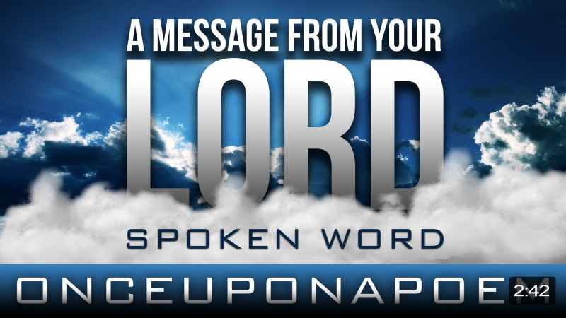 A Message From You Lord