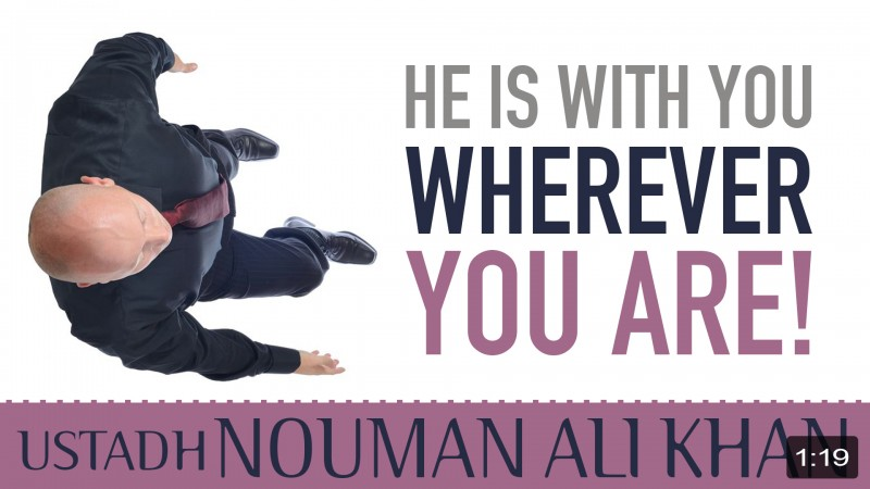 He Is With You Wherever You Are!
