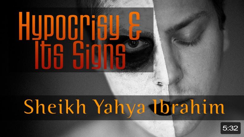 Hypocrisy & Its Signs