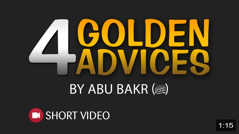 Golden Advices