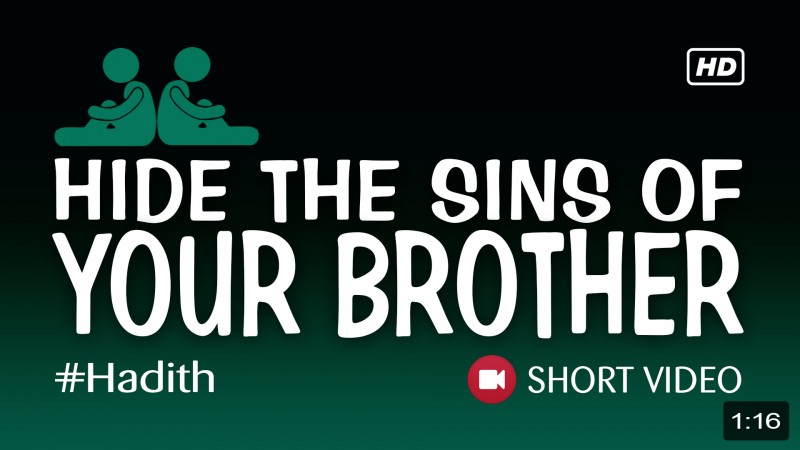 Hide The Sins Of Your Brother