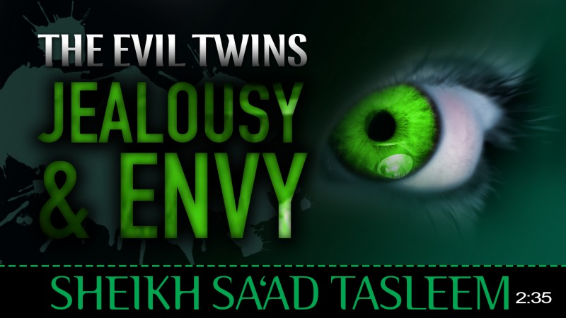 The Evil Twins : Jealousy & Envy