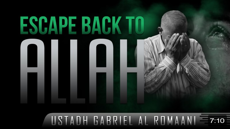 Escape Back To Allah!