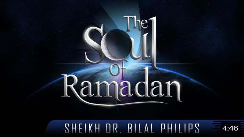 The Soul Of Ramadan