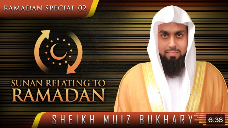 Sunan Relating To Ramadan 2015