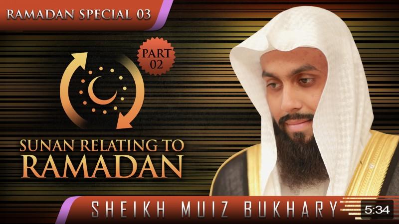 Sunan Relating To Ramadan