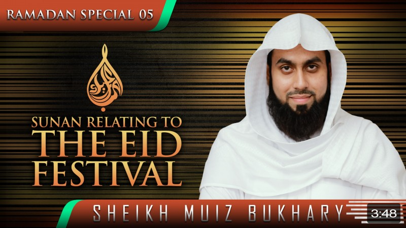 Sunan Relating To The Eid Festival