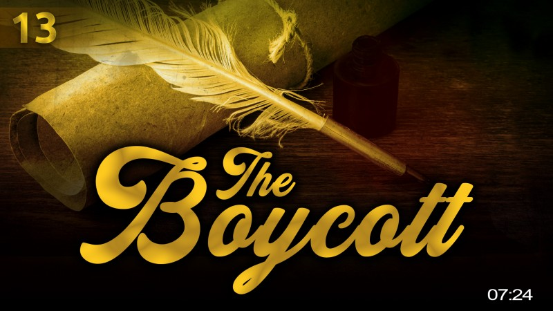 [EP13] When They Boycotted The Prophet (ï·º) - Story Of Muhammad (ï·º)