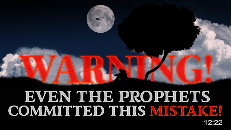 [WARNING] Even The Prophets Committed This Mistake!