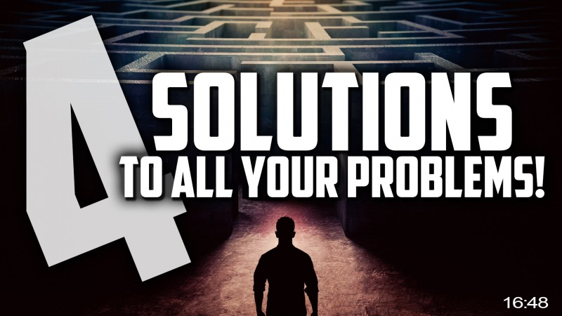 [MUST WATCH] 4 Solutions To ALL Your Problems & Happiness Ever After! ???? - Based On True Stories