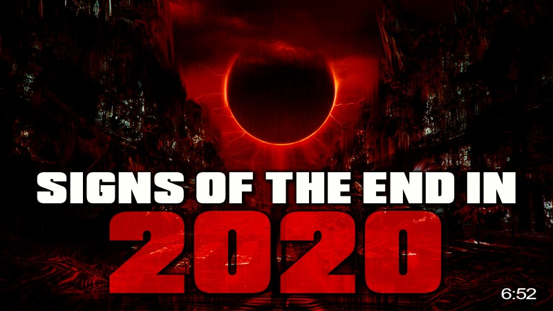 World Being Prepared For The End Of Times In 2020?! ????